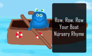 Row row your boat nursery rhyme featured